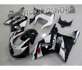 Carena in ABS Suzuki GSX-R 600 e 750 01-03 colorazione WHITE CORONA