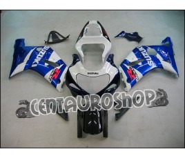 Carena in ABS Suzuki GSX-R 600 e 750 01-03 colorazione BLACK & WHITE