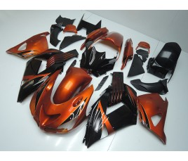 Carena in ABS Kawasaki ZX-14R Ninja 06 - 11 Orange Dream