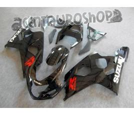 Carena in ABS Suzuki GSX-R 600 e 750 04-05 colorazione CORONA