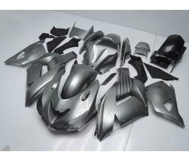 Carena in ABS Kawasaki ZX-14R Ninja 06 - 11 Silver