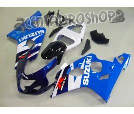 Carena in ABS Suzuki GSX-R 600 e 750 04-05 colorazione KEVIN