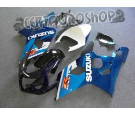 Carena in ABS Suzuki GSX-R 600 e 750 04-05 colorazione BLACK & BLUE
