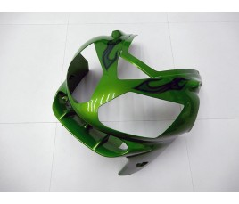 Carena in ABS Kawasaki ZX-12R Ninja 02-06 Flaming Green