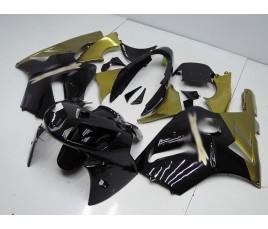 Carena in ABS Kawasaki ZX-12R Ninja 02-06 Black and Gold