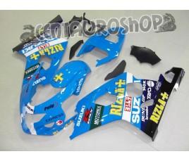 Carena in ABS Suzuki GSX-R 600 e 750 04-05 colorazione RIZLA