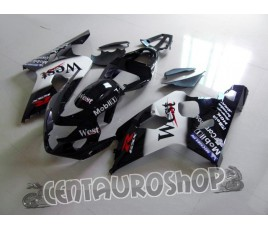 Carena in ABS Suzuki GSX-R 600 e 750 04-05 colorazione LUKY STRIKE