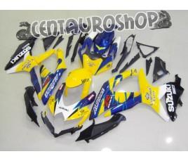 Carena in ABS Suzuki GSX-R 600 e 750 08-09 colorazione WHITE CORONA
