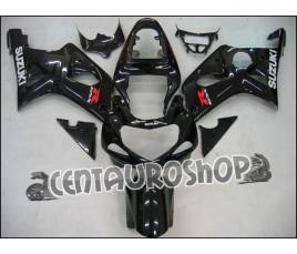 Carena in ABS Suzuki GSXR 1000 00-02 colorazione All Black