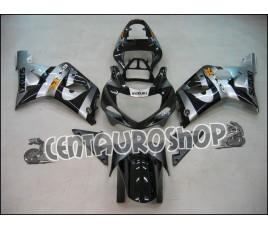 Carena in ABS Suzuki GSX-R 1000 00-02 Black & Silver