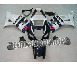 Carena in ABS Suzuki GSX-R 1000 03-04 colorazione WHITE & BLUE