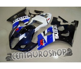 Carena in ABS Suzuki GSX-R 1000 03-04 colorazione WHITE & BLUE