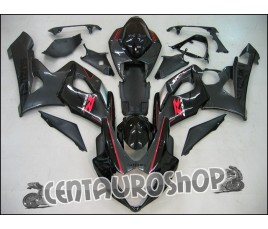 Carena in ABS Suzuki GSX-R 1000 05-06 colorazione BLACK & GREY