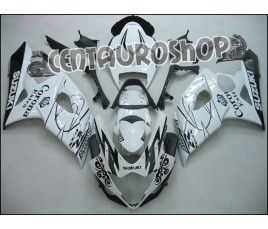 Carena in ABS Suzuki GSXR 1000 05 06 White Corona