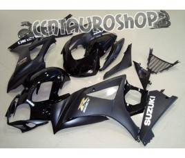 Carena in ABS Suzuki GSX-R 1000 07-08 colorazione BLACK & RED