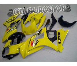Carena in ABS Suzuki GSX-R 1000 07-08 colorazione BLACK & GOLD
