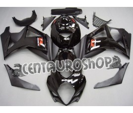 Carena in ABS Suzuki GSX-R 1000 07-08 colorazione BLACK & WHITE RACING SPIRIT