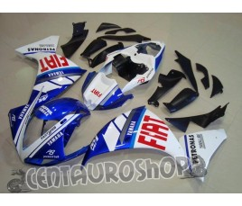 Carena in ABS Yamaha YZF 1000 R1 09 10 colorazione Blue