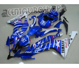Carene in ABS Yamaha YZF 600 R6 08 09 colorazione Fiat Stars