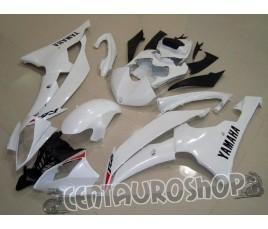 Carene Yamaha YZF 600 R6 08 09 White