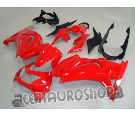 Carenatura ABS Kawasaki Ninja 250 08-09 Rosso