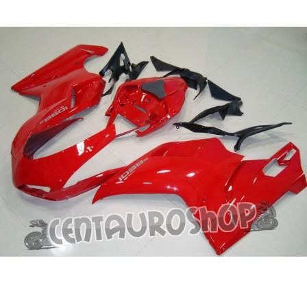 Carena in ABS Ducati 848 1098 1198 colorazione red