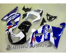 Carena in ABS Suzuki GSX-R 600 e 750 01-03 colorazione Classic 4