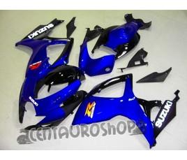 Carena in ABS Suzuki GSX-R 600 e 750 06-07 colorazione BLACK & YELLOW