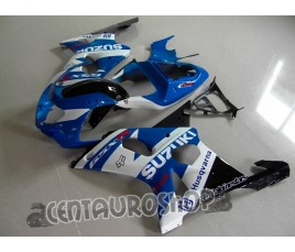 Carena ABS Suzuki GSX-R 1000 2000 2002 White & Blue