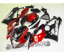 Carena in ABS Suzuki GSX-R 1000 05-06 Black & Red
