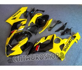 Carena in ABS Suzuki GSX-R 1000 05-06 colorazione SILVER & BLACK