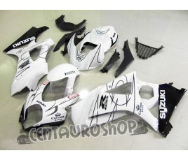 Carena in ABS Suzuki GSX-R 1000 07 08 White Corona SBK