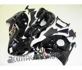 Carena in ABS Suzuki GSX-R 1300 Hayabusa 1999 2007 in nero lucido