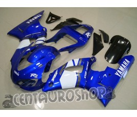 Carena in ABS Yamaha YZF 1000 R1 00-01 colorazione White & Blue
