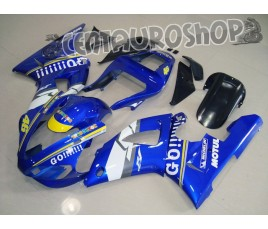 Carena in ABS Yamaha YZF 1000 R1 00-01 colorazione Rossi Go!!!