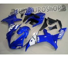 Carenatura in ABS Yamaha YZF1000R1 2002 2003 colorazione originale Blue