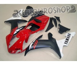 Carena in ABS Yamaha YZF 1000 R1 02-03 Red White & Black