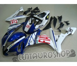 Carenatura in ABS Yamaha YZF 1000 R1 04-06 colorazione Rossi Fiat