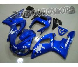 Carena in ABS Yamaha YZF 1000 R1 98-99 colorazione MATT BLACK & GOLD