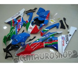 Carenatura ABS Yamaha YZF600 R6 06 07 Rossi Tricolor