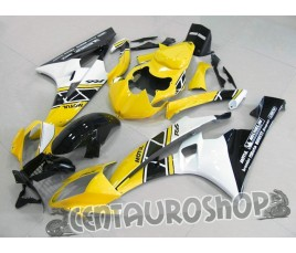 Carena in ABS Yamaha YZF 600 R6 06 07 colorazione Yellow
