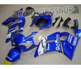 Carena in ABS Yamaha YZF 600 R6 99-02 colorazione ROSSI FIAT