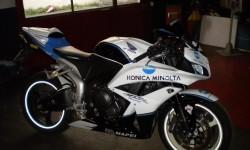 la carenatura Konica Minolta per Honda cbr600rr 2007 2008