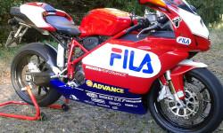 Carena in ABS Fila Superbike per Ducati 999