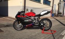 Carena in ABS per Ducati 999 nero opaco