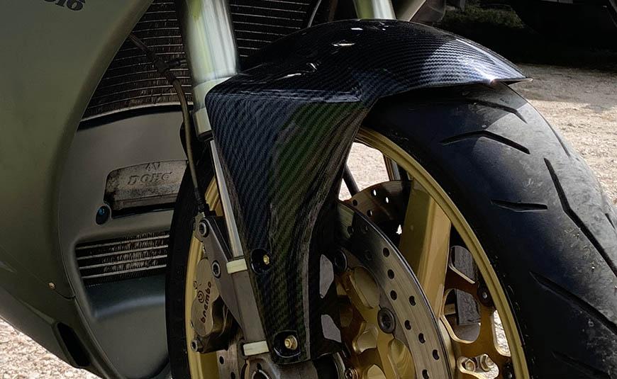 parafango carbon look per Ducati 916