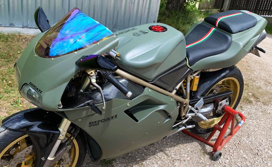 cupolino iridium Ducati 916