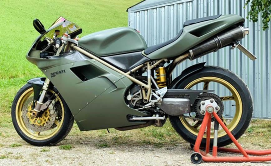 carenatura Ducati 916 custom special Centauroshop