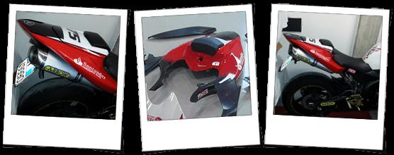 Codone e coprisella Yamaha R1