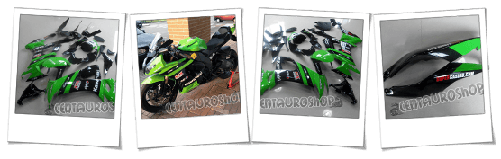 carenatura in abs per Kawasaki Ninja ZX10R